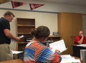 LHS Algebra PLC Hard at Work