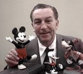 What was Walt Disney's background?