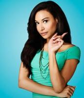 Naya Rivera playing Santana Lopez on Glee