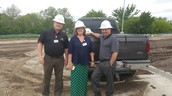 Hard Hat Ready for Dozier Elementary Tour!