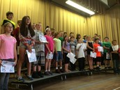 Fourth Grade Step Up Ceremony