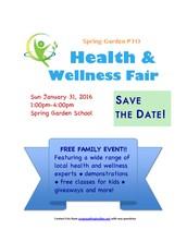 HEALTH & WELLNESS FAIR on Sunday, January 31, 2016