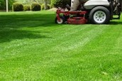 me cuting grass