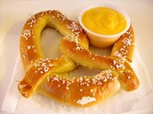 Pretzel with Cheese