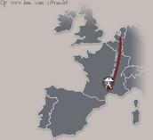 Afstand Frankrijk nederland