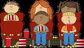 Kindergarten Movie Night. . .