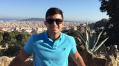 Me in Barcelona Spain