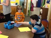 """Making """"partner people"""" with our buddies!"""