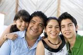 Una familia tradicional