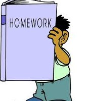 Homework packet due March 29