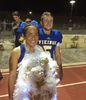 Homecoming Queen and King!
