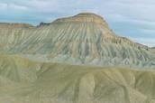 Bookcliffs and Mt. Garfield