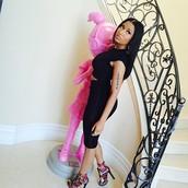 Nicki Minaj Wearing Some Of Our Newest Heels!!!