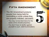 The 5 Amendment