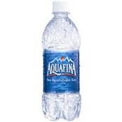 Aquafina: made by Pepsi