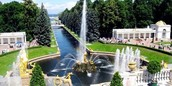 Peterhof — the capital of fountains
