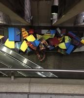 Subway Station Artwork