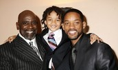 Chris Gardner, Jaden Smith, and Will Smith.