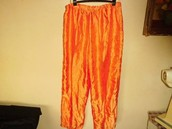 el pijama naranja