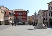Center of Rovigo Italy