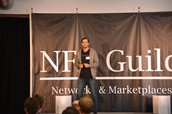 Jimi (CEO) talking at NFX conference