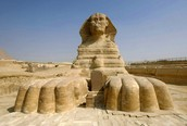 This is The Great Sphinx of Giza