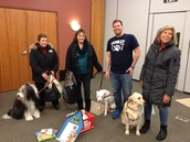 Illinois Reads Family Literacy Night with Therapy Dogs