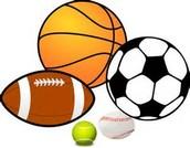 Yo juegé muchos deportes en Middle School