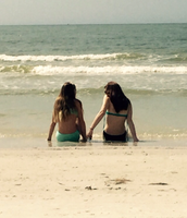 me gusta ir a la playa