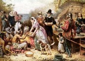 Pilgrims and Native of American
