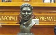 A statue of Dred Scott
