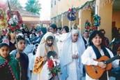 Las Posadas se celebran en el 16 al 24 de Diciembre