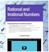 Mathematics: Rational and Irrational Numbers