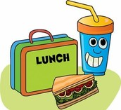Por último , yo como el almuerzo