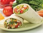 Garden Chicken Wrap