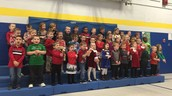 Little Viking School children singing the Leader In Me song :)