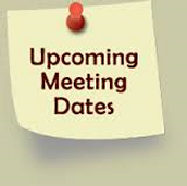 Upcoming Meetings: