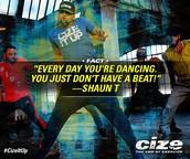 Grades 4-12: Cize! Dance Fitness