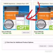 This is what I chose for my Thrive Experience!