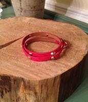 Hudson Red Wrap bracelet