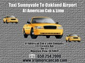 Taxi Sunnyvale to Oakland Airport