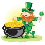 Join Miss. Hawkins' early childhood classroom in a Leprechaun lunch in!