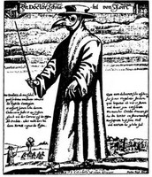 Black Death Plague Doctor