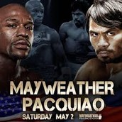 May 2! The biggest fight of the century takes place!!!!