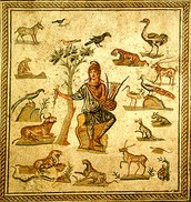 Mosaic of Orpheus
