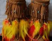 Friday Fringe and feathers