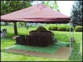 Graveside Funeral Setup