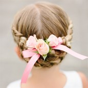 Flowers for braided hair