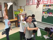Mrs. Mitchell's class loves air as well!