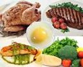 Major sources of protein.